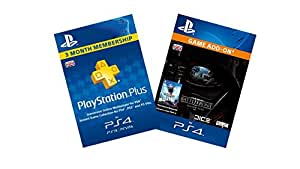 Star Wars Battlefront Season Pass + PlayStation Plus 3