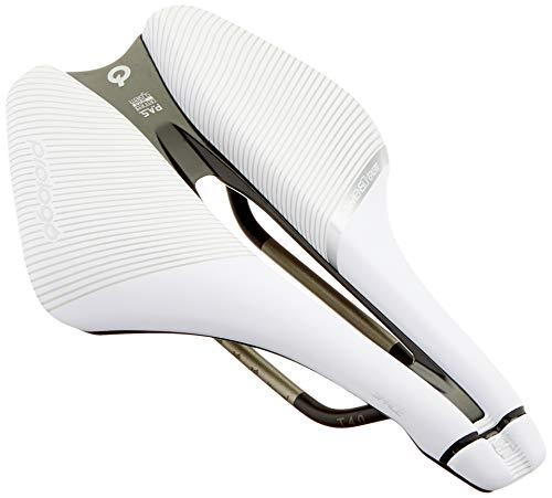 Prologo Nago Evo X8 CPC TIROX weiß-schwarz, Halbrund XC-Marathon (280x135mm), NAX8TN0WBC1-AM Rennradsättel