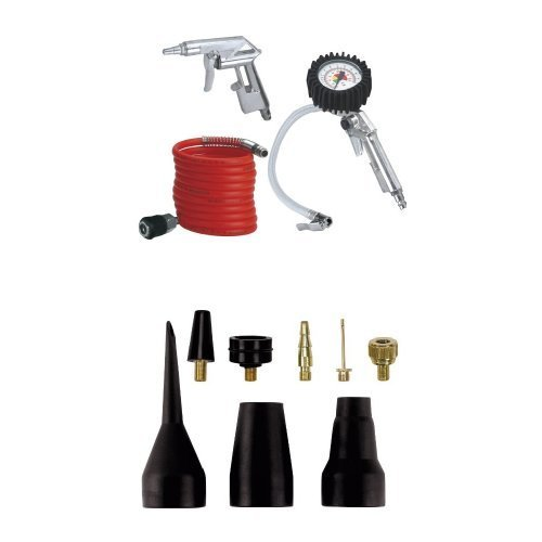 Einhell - Set de 3 accesorios para compresor de aire comprimido + Einhell - Juego de accesorios de hinchado para compresor