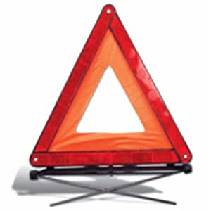 Warning Triangle - Red Travel Fold Up Safety Triangle In Case