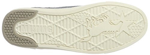 Mustang 1246-301-875, Sneakers Basses Femme Bleu (875 Sky)