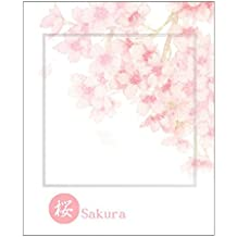 Cavallini Fleur Sticky Notes Haftnotizen Klebezettel Blumen