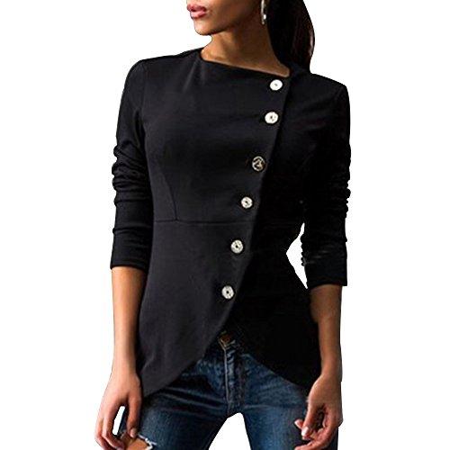 femme-veste-jacket-sexy-manches-longues-sweatshirt-bouton-schick-asiatique-l-eu-m