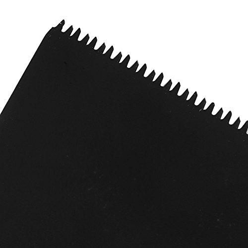cnbtr schwarz 65x 40mm Japanische Zahn Form Carbon Stahl Sägeblatt Pendelndes Multitool Präzision Quick Release Sägeblätter Set von 10