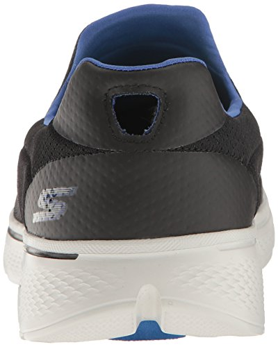 Skechers Go Walk 4, Scarpe da Ginnastica Basse Uomo Black / Blue