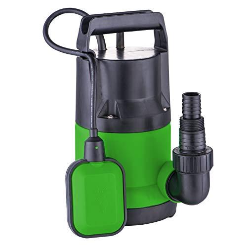 iWork - L-81-851 - Bomba Sumergible 400w Aguas Limpias color verde y negro