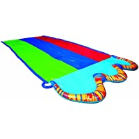 Banzai 16 ft. Triple Racer Water Slide with Giant Water-Spraying Rails by Toy Quest