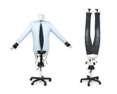Bügelpuppe PAUL für Hemden und Hosen mit Standfuß von
