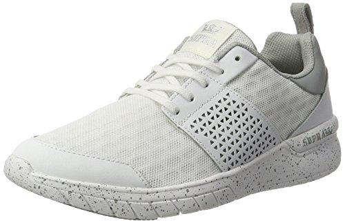 Supra Herren Scissor Sneaker Weiß (White-White Speckle)