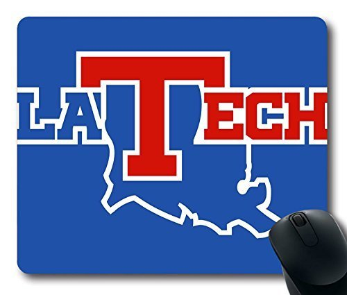 custom-gaming-mouse-pad-with-louisiana-tech-bulldogs-non-slip-neoprene-rubber-standard-size-9-inch22