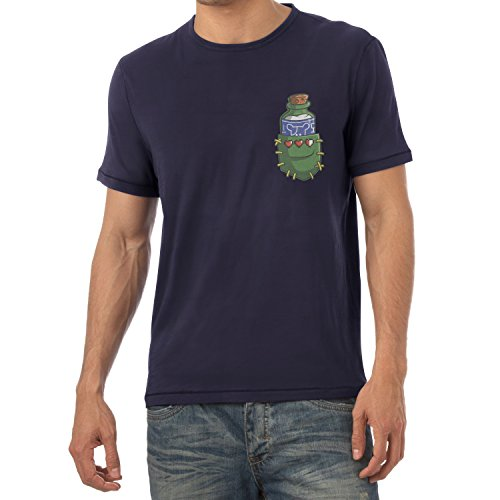 TEXLAB - Potion in a Pocket - Herren T-Shirt Navy