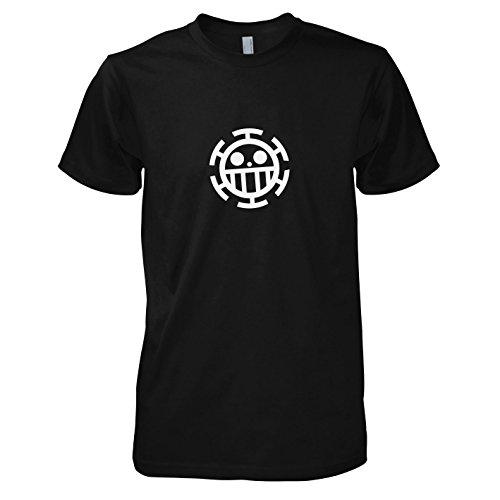 TEXLAB - Heart Piraten - Herren T-Shirt, Größe XL, (Fun Kostüme Unlimited)