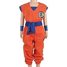 CoolChange disfraz para niños de Dragon Ball, traje de entrenamiento del genio de las tortugas, tamaño 110
