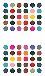 Sunaina Matching Plaza Multicolor Size-2.5 Round Bindis for Women [SMP610]