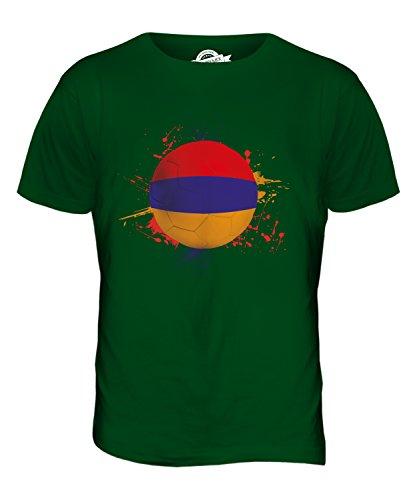 CandyMix Armenien Fußball Herren T Shirt Flaschengrün