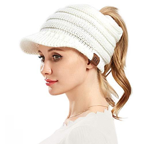 1dc08c2d2aea4 VAMEI Mujer Sombreros Invierno Beanie Gorro Punto