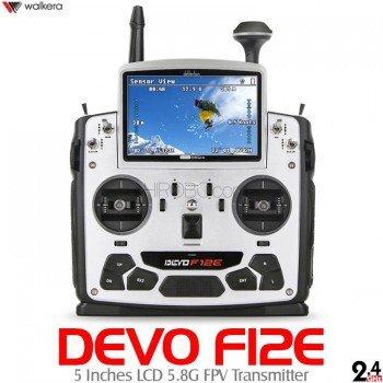 Walkera DEVO F12E FPV Transmitter 5.8Ghz Image Monitor 12CH