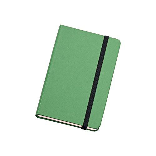 Rubrica telefonica tascabile 9x14 copertina rigida verde