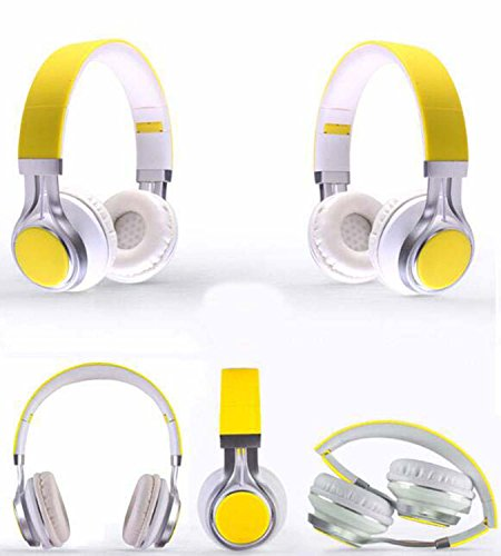 Hzhy Auriculares con Cable Inteligentes con Auriculares de música estéreo con subwoofer Plegables...