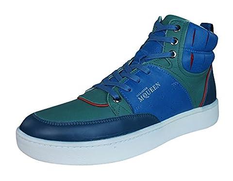 PUMA x ALEXANDER McQUEEN - Baskets - Homme - Sneakers Summer Hi Bleu - 41