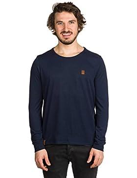 Naketano Italienischer Hengst Langen IV Camiseta de manga larga