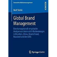Global Brand Management (Innovatives Markenmanagement)