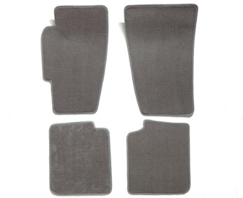 premier-custom-fit-4-piece-set-carpet-floor-mats-for-saturn-ion-premium-nylon-gray-by-premier