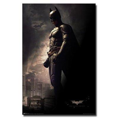 (22x 34) Film the Dark Knight Batman debout poster