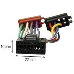 Câble Faisceau adaptateur ISO autoradio KENWOOD 16 pins
