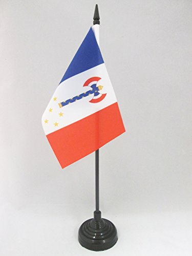 az-flag-vichy-france-of-petain-table-flag-4-x-6-french-state-regime-desk-flag-15-x-10-cm-black-plast