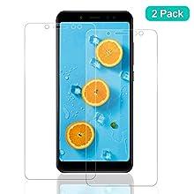 SNUNGPHIR Vetro Temperato per Xiaomi Redmi Note 5, Pellicola Protettiva Screen Protector, 9H Durezza Ultra Resistente Alta Trasparente [Anti-Graffo/Olio/Impronta] - 2 Pezzi, (Transparente)
