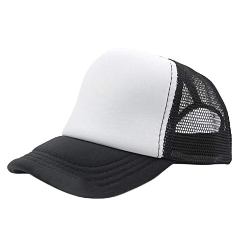 e89eea0b36d2d camelliaES Fashion Summer Cap Trucker Mesh Hat Baseball Sunshade Cap  Adjustable Hats Casual Outdoor Travel Caps
