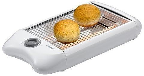Exido 243053 flat toaster-grille-pain horizontal-tischröster numérique avec minuteur