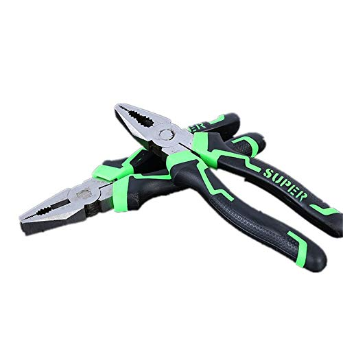 8 Zoll Pliers Linesman Pliers, Multi-use mit Bolt und Wire CutterDensity Chrome Plated Finish und High Shear Force - High-shear
