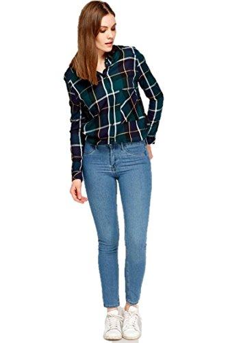 Ex Zara -  Jeans  - Donna Light Wash Blue