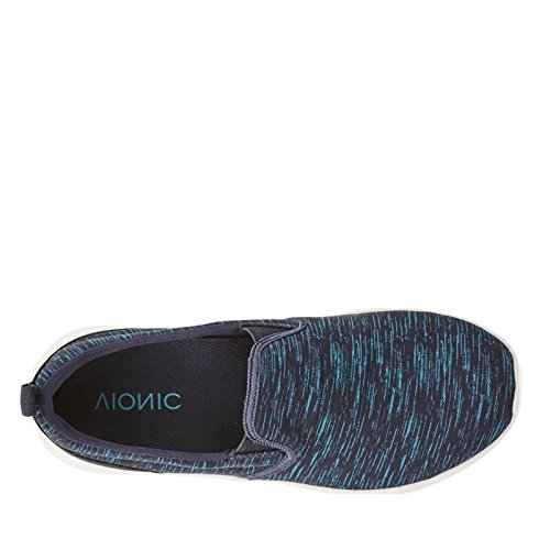 Vionic Kea, Chaussures Multisport Outdoor Femme Bleu Marine/Turquoise