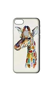Colorful Giraffe Designer Mobile Case/Cover For Apple iPhone 7