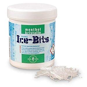 POOL Total Sauna Menthol Ice-Bits 50g / Mentholsteine für die Sauna/sehr sparsam im Verbrauch