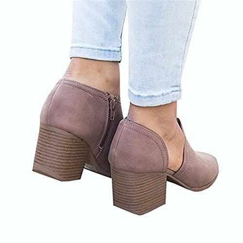 Minetom Été Mode Femmes Sandales Tongs Chaussures Compensées Chaussures Mules Chausson Pantoufles Loisirs Poisson Bouche Pantoufles Fond Épais Violet