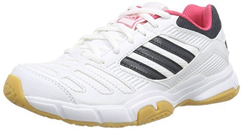 Adidas Unisex Adulto Bt Boom Indoor Scarpe Bianco (runwht / Teconi / Blapnk)