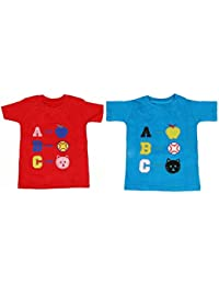 Feel Trendy boys cotton T shirts( 2) peaces 3years