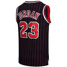 NBA Michael Jordan  23 Camiseta de Baloncesto para Hombres Chicago Bulls  Retro Chaleco de Gimnasia 32a25ee5fe8