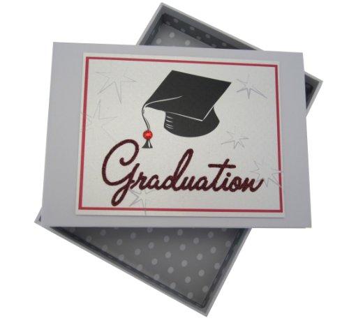 White Cotton Cards Graduation Cap grd1t Mini-Fotoalbum