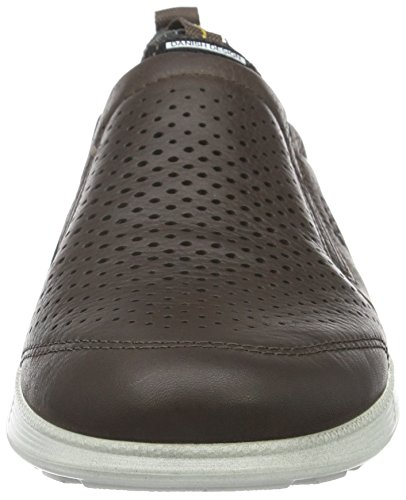 Ecco Transit, Baskets Basses Homme Marron (COFFEE2072)