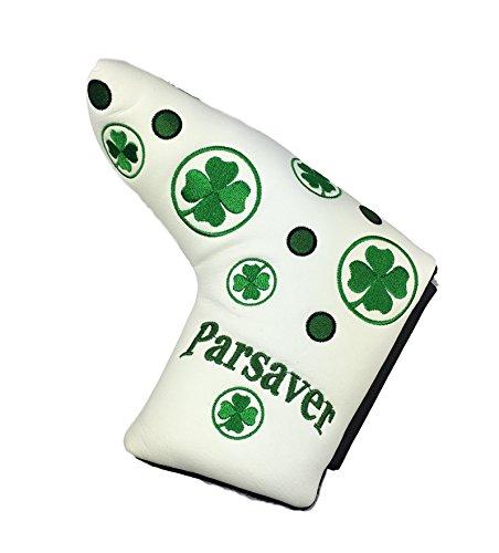Parsaver Shamrock trèfle Putter Cover - By - chance quatre couverture Clover Leaf pour Scotty...