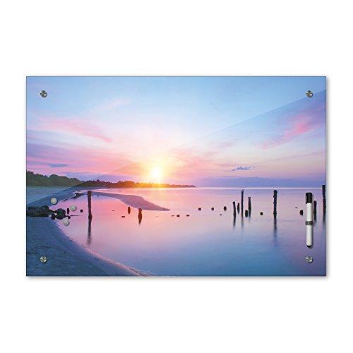 Bilderdepot24 Glas Magnettafel Memoboard Schreibtafel 60 x 40 cm, Landschaftsmotive