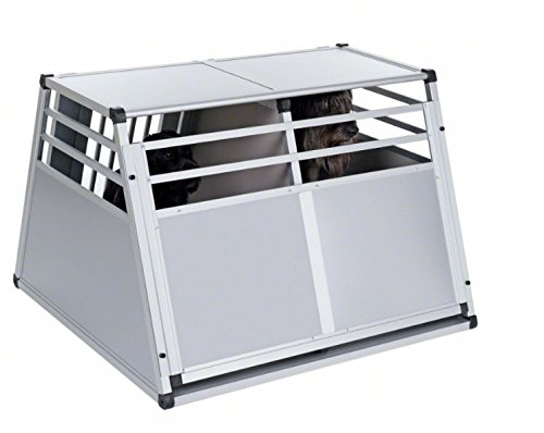 Aluline Robust and Lightweight Double Dog Crate - Safe and Comfortable Way to Transport Larger Dogs when Travelling by… 9