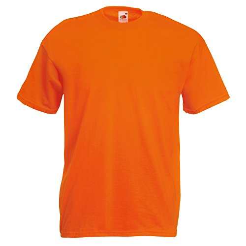 Fruite of the Loom Valueweight T-Shirt, vers. Farben L,Orange