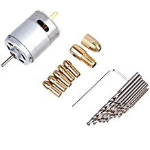 Gowind6 taladro eléctrico de mano Mini pequeño 12 V motor y 0,5-3