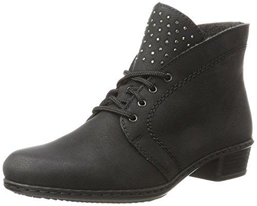 Rieker Damen Y0704 Stiefel, Schwarz (Schwarz), 36 EU
